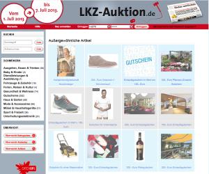 Die Gutscheinauktion der Ludwigsburger Kreiszeitung konzentrierte sich auf Gutscheine